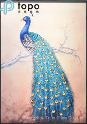 Het Schilderen van het Huis van de Prijs van de Fabrikant van China het Goedkope Decoratieve Glas van de Kunst (M.-yb6-2030)