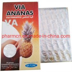 100% die natürliche Pflanze über Ananas verringern das Gewicht, das Pillen abnimmt