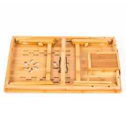 Ordinateur de bureau de mobilier en bambou