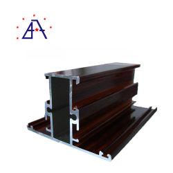 Aleación de aluminio personalizado del marco de puerta deslizante