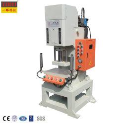 Uma única coluna Tipo C Ponto Hidráulico Pressione a máquina de corte de perfuração