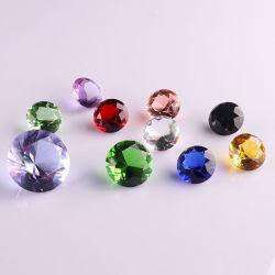 Bunter Kristallglas-Diamant für Dekoration (Ks26011)