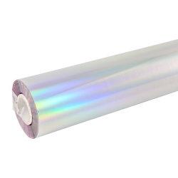 Голограмма Серебряная горячая штамповочная фольга для бумаги и пластмассы