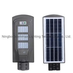 Resistente al agua IP65 20W Beammax todos al aire libre en una calle LED Solar integrada Jardín de Luz