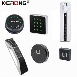 Contorlled KERONG Advanced APP Smart électronique RFID de mot de passe de la carte Bluetooth d'empreintes digitales le Cabinet de la came de verrouillage de tiroir pour salle de gym de casier de classeur de bureau Boîte aux lettres