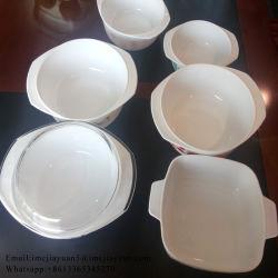 Opal посудой белого стекла пластических масс, салат чашу рыб тарельчатого диска установить питьевой кружки посуда декоративные ужин