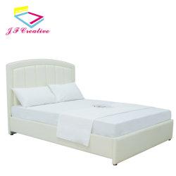 현대적인 침실 가구 더블 가죽 침대 홈 가구 킹 퀸 사이즈 침대 프레임 소프트 침대