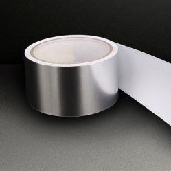 Meiyuan Silver 耐火アルミニウムフォイル HVAC ダクトテープ金属表面