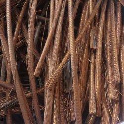 Fios de cobre esmaltados polidos 99,99% de fio de cobre de latão Haste de cobre