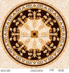 Material de construção 800*800 mm Cristal polido Cor Dourada granito e mármore em porcelana cerâmica vidrada Alcatifa telhas