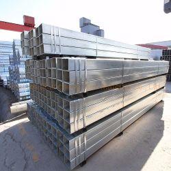 아연 도금 강철 배관 2.5인치 높이 X 2.5인치 너비 3/16 인치 두꺼운 절단용, 갈바니드 튜브의 보트 트레일러 금속 파이프