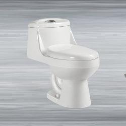 مرحاض من قطعة واحدة مصيدة حمام 300 مم مرحاض خزفي مرحاض