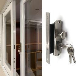 여닫이 창 Windows 단 하나 측 열려있는 아연 합금 Windows 자물쇠 세트