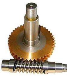 Arbre de pignon du moteur réducteur Worm Box DC Ver Engrenage de roue réducteur de vitesse du moteur d'entraînement petit ver cric à vis plastique fabricant