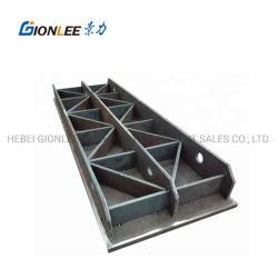 Lavorazione della saldatura a caldo della trave di supporto della carrozzeria a ponte su larga scala Struttura telaio