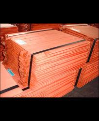 Cathode de cuivre de haute qualité/cathode de cuivre électrolytique de 99,9 %