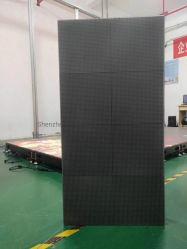 로맨틱 웨딩/무대 이벤트 휴대용 패널 P4.81 RGB 3in1 LED 비디오 댄스 플로어