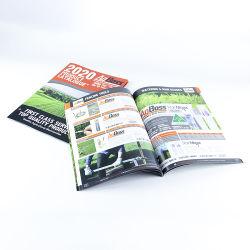 A5 Imprimir folleto plegado instructivo Catálogo de la impresión de etiqueta