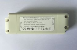 15W 18 V de tensão constante utilização do reóstato Triac para lâmpada LED
