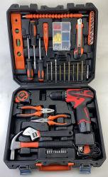 Venta caliente 52pcs conjunto de herramientas en caja de plástico Electric Tool Herramienta Mano