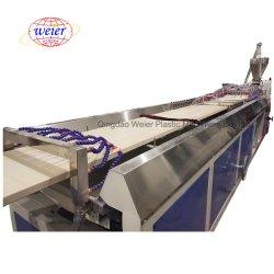 PVC WPC 벽 패널 실 플레이트 도어 포켓 생산 라인 Webier의 돌출 기계