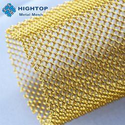 Rideaux décoratifs Cascade drapés tissu à mailles de chaîne en métal