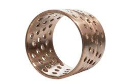 堅い円形オイル穴が付いている金属の袖細長かった青銅色のブッシュ