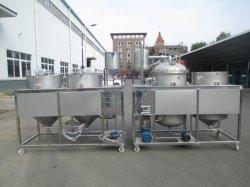 Le maïs à petite échelle de la DPT 1.5-2de soja Graines de tournesol de Palmiste 304 Mini-raffinerie de pétrole brut