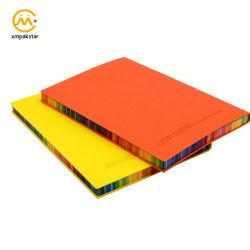Borda de couro Softcover Arco-Íris personalizáveis oficial por escrito do Catálogo de endereços do notebook