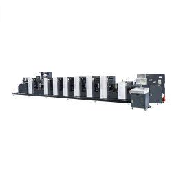 ملصق إزاحة متقطعة تلقائي تلقائي متعدد الوظائف على الويب بعرض 350 مم على نطاق ضيق آلة الطباعة