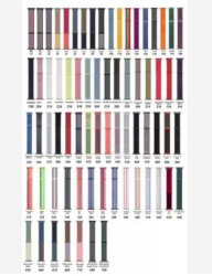 Cinturino da orologio in velcro solo Loop Nylon 70 colori traspirante Banda di visualizzazione