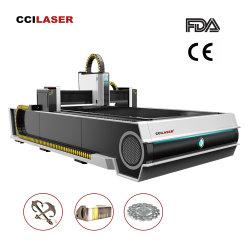 CNC van de Laser van de Vezel van het Koolstofstaal van de Laser flc-3015c 2000W Ipg Roestvrije Scherpe Machine voor Industrie van Electr Onics