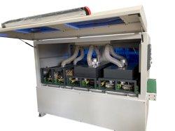 2021 فرشاة جديدة للبكرة الخشبية اللوحة MDF اللوحة الخشبية الجديدة ماكينة مصنفرة للأثاث خزانة الحرف نافذة الباب تنظيف الحافة
