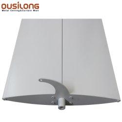 Proyecto de exterior de la ventana de aluminio de Sun Blade de sombreado de persiana Parasol