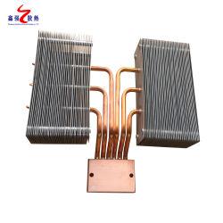 Sistema de refrigeración del equipo médico 6063 cobre High-Power 200W LED de aluminio de tubo de calor Disipadores de calor