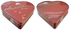 Inner-geformter Kasten-kundenspezifisches Metallsüßigkeit-Nahrungsmittelgrad-materielles Verpackungs-Schokoladen-Zinn