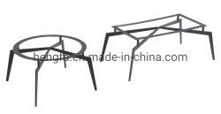 현대 스테인리스 바 테이블 다리 탁자 프레임 다방