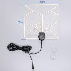 A HDTV DVB-T ATSC Crystal Clear 174-240 Antena/470-860MHz Stick televisão por satélite a antena de televisão interior