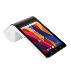 PT7003 Android système POS Caisse enregistreuse Lecteur de carte magnétique Terminal écran tactile RFID POS Imprimante scanner de code à barres