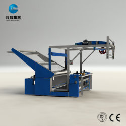 Proceso de teñido de textiles de laminación de inspección de la máquina de enrollamiento