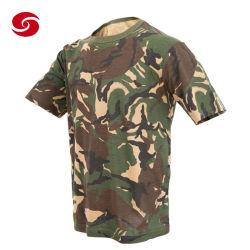 고품질 영국식 DPM Woodland 카무플라주 코튼 아미 티셔츠