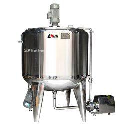 Acero Inoxidable 500L Calefacción eléctrica el champú y pasta de dientes salsa depósito mezclador Líquido químico