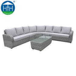 Set di divani per esterni Hot Selling in vimini di rattan sintetico Big Lots Mobili da patio