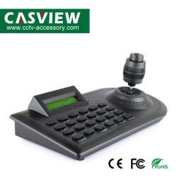 Câmara CCTV Eixo 4 (4D) a controladora de teclado e ecrã LCD, a porta de comunicação RS-485 construir em: Multiprotocolo Pelco-D e Pelco P Pelco-D1 Pelco-P1