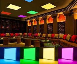 Diseño Ultra-Slim RGBW Panel LED de luz para el hogar/Salones/Aeropuertos/Entretenimiento la iluminación de espacios