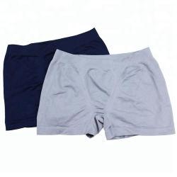 Commerce de gros Mens Sports OEM/Fashion Seamless confortable de coton noir/marine/gris Shorts Boxers Briefs/sous-vêtements/culotte sur la vente
