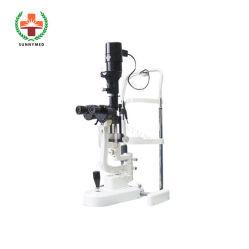 Sy-V038-1 눈 집중 입체경 현미경 싼 틈새 램프 현미경