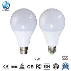 12V AC/DC60 7W un éclairage intérieur de l'ampoule économie d'énergie lampe LED 630LM 3 ans de garantie avec ce processus ETL RoHS FCC