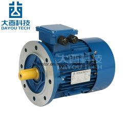 Ie2/Me2 Boîtier en aluminium de haute efficacité trois phase synchrone d'induction électrique c.a. Electromotor engrenage du ventilateur de moteurs électriques monophasés