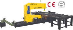 월간 거래 CNC 자동 유압 수직 고속 각도 미팅 Bandsaw Cut Band Auto Feed Metalworking 톱질 장비 사용 금속 절단 Gd5450/250